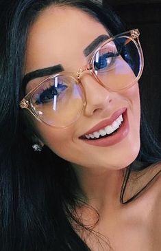 2020 Women Glasses Izipizi Reading Glasses Rimless Eyeglasses Frame Without Lens - 2020 Women Glasses Izipizi Reading Glasses Rimless Eyeglasses Frame Wi – ooshoop Source by Ooshoop - New Glasses, Cat Eye Glasses, Girls With Glasses, Glasses Outfit, Glasses Online, Clear Glasses Frames Women, Cute Glasses Frames, Glasses Trends, Lunette Style