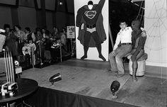 Way-too-big kid Sitting on Spider-Man's Lap, 1980