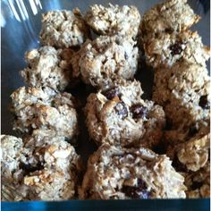 Low carb high protein gluten free oatmeal chocolate chip cookies - yummy!