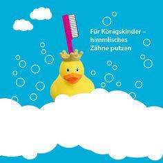 """my toothie duck """"Königs-Ente"""" für Königskinder – himmlisch Zähne putzen  #Geschenkidee #Bad #Badezimmer #bathroom"""