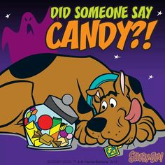 We grew up watching Scooby Doo. Many years later in my life, we adopted a fawn Great Dane just like the cartoon character- and he was already named Scooby Doobie Doo.  May he rest in peace. Scooby died of Prostrate Cancer May 2014. We adopted our Dane in the year of 2010, he was 2yrs old.