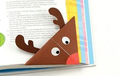This is a super fun project for origami beginners and kids,plusa great little one to encourage reading! Let's make a Rudolph Reindeer origami corner bookmark. We had a lot of fun with monster DIY corner bookmarks a while ago and so I thought it was time to make something Christma ssy this time around. Reindeer …