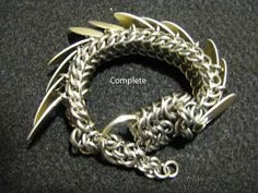 I can't get over this chainmaille dragon tutorial.