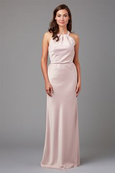 bac9bdefef1 See photos of affordable and designer bridesmaid dresses and browse by  neckline