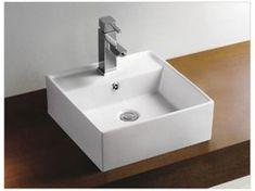 Alape eb serie inbouw wastafel cm wit badkamer