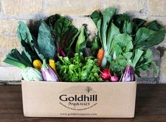 A box of our beautiful Organic Vegetables, Box, Beautiful, Snare Drum