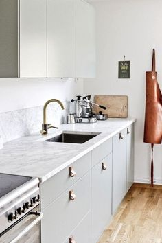 Leather Pulls: Where to Buy the DIY Design Detail We Love | Apartment Therapy