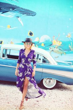 Underwater with fish and car // The Glamourai travel
