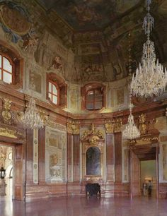 Marble Hall in the Upper Belvedere