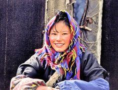 Nomad Girl, Tibet 2003 (Foto: Erik Törner) by eriktorner, via Flickr