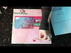 Sketch to Scrapbook Page :: These are the days