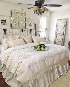 20+ Cozy Rustic Farmhouse Bedroom