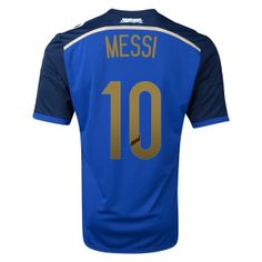 1dca3ca9218 Argentina Soccer Team 14-15 Away Replica Soccer Shirt  16 KUN AGUERO   1404011703