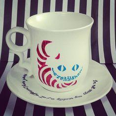 Alice, wonderland mug Wonderland, Alice, Tableware, Dinnerware, Dishes, Porcelain Ceramics