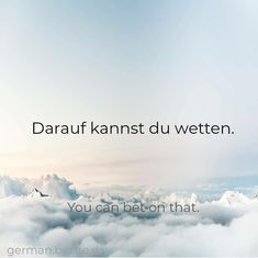 German Grammar, German Words, Learn German, Learn English, Words In Other Languages, German Quotes, German Language Learning, Cute Words, Idioms