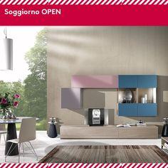 Apri la tua casa ai colori pastello di OPEN, il soggiorno dal design accattivante e raffinato by Hartè.