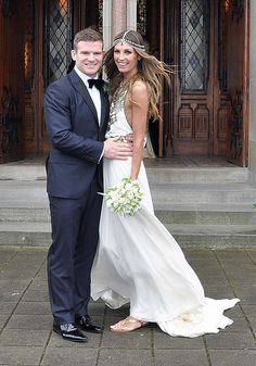 Gordon D'Arcy and Aoife Cogan The wedding of model Aoife Cogan and rugby star Gordon D'Arcy, held at St. Macartan's Cathedral Monaghan, Ireland - 06.07.12 WENN.com