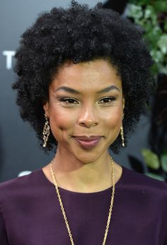 Sophie Okonedo has a gorgeous head of natural hair