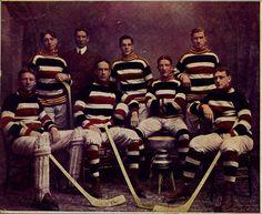 The famed Ottawa Silver Seven Hockey Club | Hockey