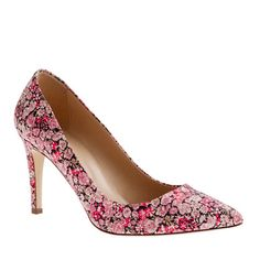 Everly Liberty Art Fabric Floral Pumps
