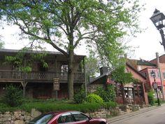Galena, Illinois - Antique shops along the Main Street