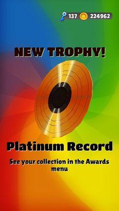 Platinum Record  Subway Surfer