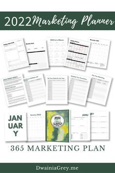 The 2022 Profit Goals: 12 Month Marketing Plan step-by-step marketing planner is for any Empowerpreneur (author, public speaker, coach, creator, blogger – any small business owner). Increase your sales by setting your 2022 profit goals. Plan and organize your marketing campaigns for the year. Buy the easy to use 2022 Profit Goals: 12 Month Marketing Planner. Marketing Plan, Marketing And Advertising, Online Marketing, Social Media Marketing, Digital Marketing, Planning And Organizing, Blog Planner, Things To Think About, Promotion