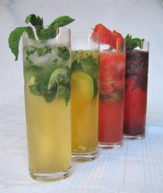 Passion Fruit Mojito (blackberry watermelon smoothies)