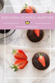 zucchini schokolade muffins, slim, glutenfree, sugarfree, healthy, low carb, recipe, rezept, amigaprincess.com