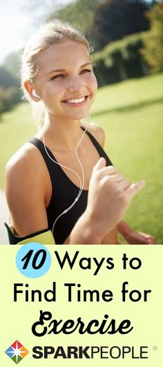 It's legitimately hard to find time to exercise--we get it! That's why we put together 10 simple ways to fit in your fitness. How's that for motivation?