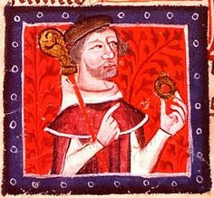 Stephen (c. 1092/6 – 25 October 1154), often referred to as Stephen of Blois (Old French: Estienne de Blois), was a grandson of William the Conqueror. He was King of England from 1135 to his death, and also the Count of Boulogne in right of his wife. Stephen's reign was marked by the Anarchy, a civil war with his cousin and rival, the Empress Matilda. He was succeeded by Matilda's son, Henry II, the first of the Angevin kings.