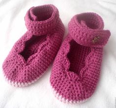 Children's slippers Crochet - Fair Masters - handmade, handmade