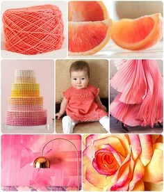 Pink Grapefruit Pinspiration Pinned by www.LKnits.com