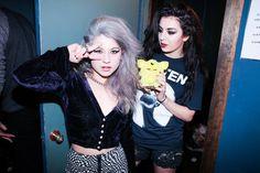 Chloe Chaidez and Charli XCX