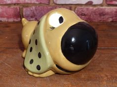 BIG NOSE DOG Coin Bank by JusFunkinAround on Etsy