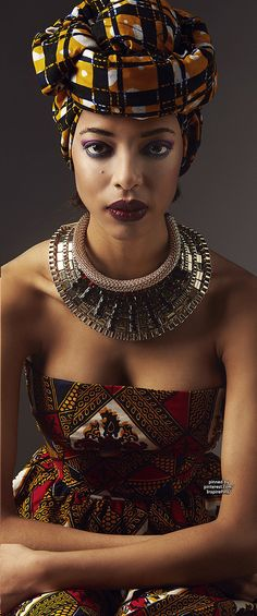 African Inspire Fashion Bineta Sanor | Purely Inspiration