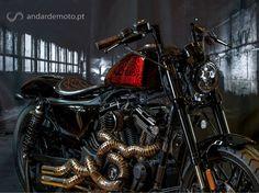 O concessionário oficial Harley-Davidson de Lisboa preparou uma Sportster Roadster para a Battle of the Kings III, a competição europeia dos concessionários da marca.