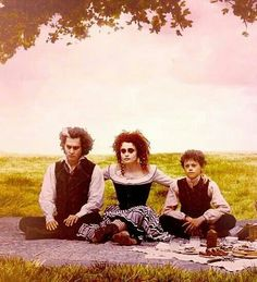 Sweeney todd-definatly one of the weirdest movies I've seen. Not for those who don't like bloody movies...and demented stuff...