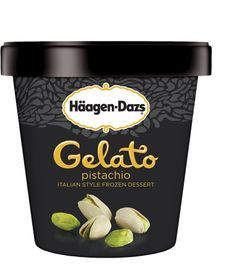 Häagen-Dazs Pistachio Gelato | an exquisite classic, Häagen-Dazs Pistachio gelato is rich and buttery, delivering a lightly roasted pistachio taste, creating an exceptionally smooth indulgence that's light on your palate.
