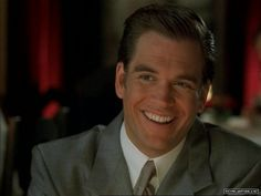 Michael Weatherly...a young Cary Grant