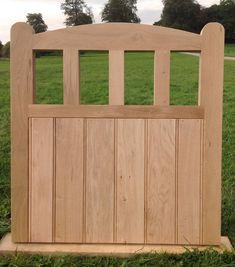 Handcrafted Arched Top Solid European Oak Garden Gate X Hardwood Wooden Gate Door, Wooden Garden Gate, Door Gate, Small Garden Gates, Garden Gates And Fencing, Fences, Garden In The Woods, Home And Garden, Garden Structures