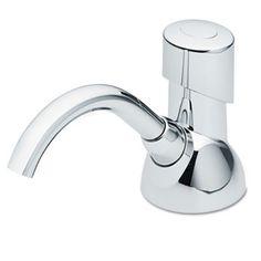 Cx Counter Mount Foam Soap Dispenser, 1500ml, 4 1/2w X 11 7/8d X 4 1/2h, Chrome
