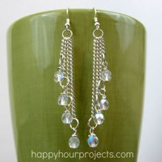 (via Easy Cascade Dangle Earrings)