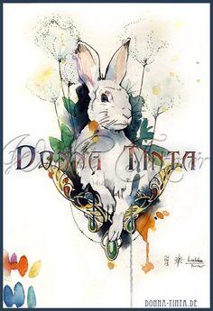 Design for a Rabbit Tattoo
