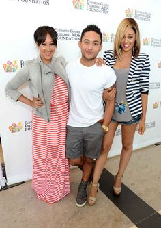 Well, Tahj Mowry, the brother of twins Tia and Tamera Mowry, is all grown up now.