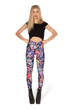 Zombie Nation HWMF Leggings › Black Milk Clothing