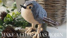 Christmas DIY & Decor Challenge   Make a Christmas Robin