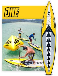 Naish ONE Inflatable SUP race board