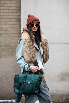 89e7603a3f Here are some of our fave looks from the streets this past month as the  fashion crowd strutted their way from New York to London to Milan and  finally Paris ...