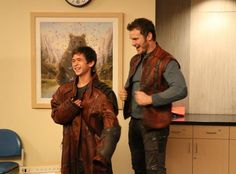 Chris Pratt Visits Children's Hospital Los Angeles in Costume as Star-Lord From Guardians of the Galaxy
